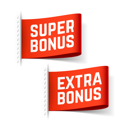 Super and extra bonus labels