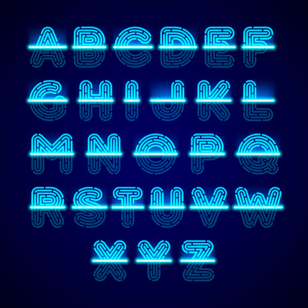 odcisk kciuka: Skaner linii papilarnych Alfabet