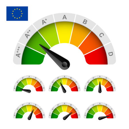 energy rating: European Union energy efficiency rating