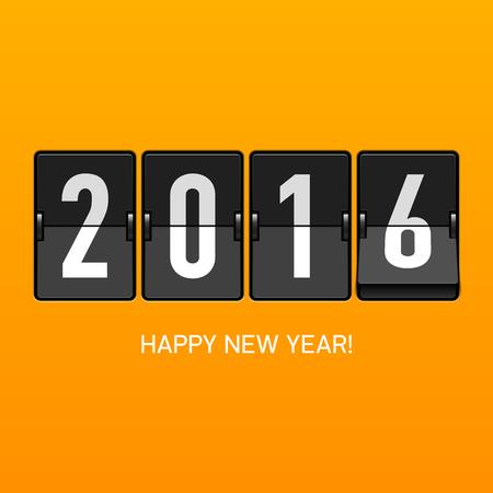 nowy rok: Szczęśliwego Nowego Roku 2016 kartkę