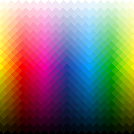 cmyk abstract: Color palette background
