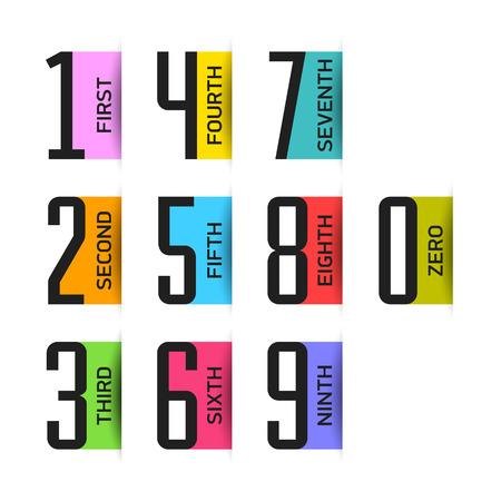 trio: Numbers set