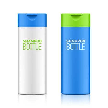 あなたのデザインのシャンプー ボトル テンプレート