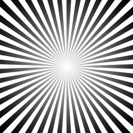 rayas de colores: patrón de rayos de sol