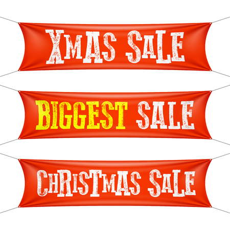 biggest: Biggest Christmas sale banners
