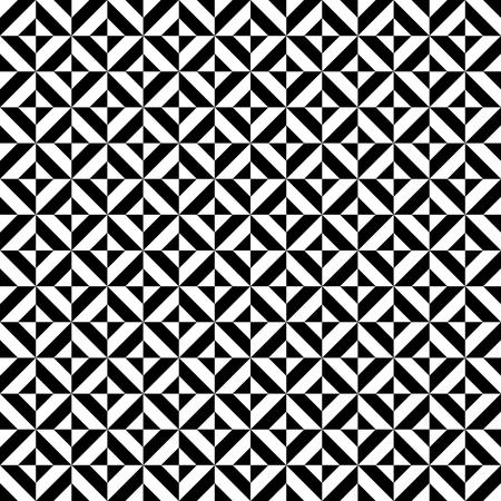 Naadloze patroon van zwart-wit