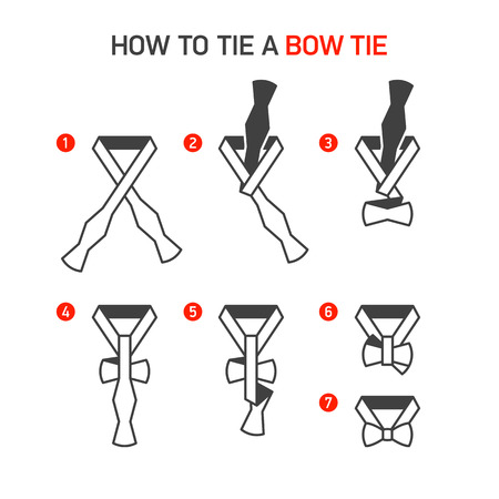 guidebook: How to Tie a Bow Tie instructions