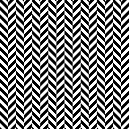 Black and white herringbone seamless pattern Illustration