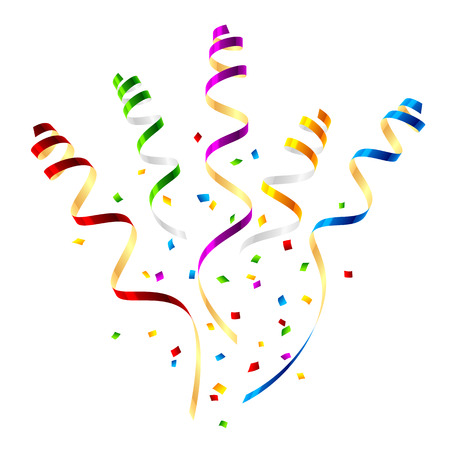 serpentinas: , serpentinas fiesta sorpresa con confeti