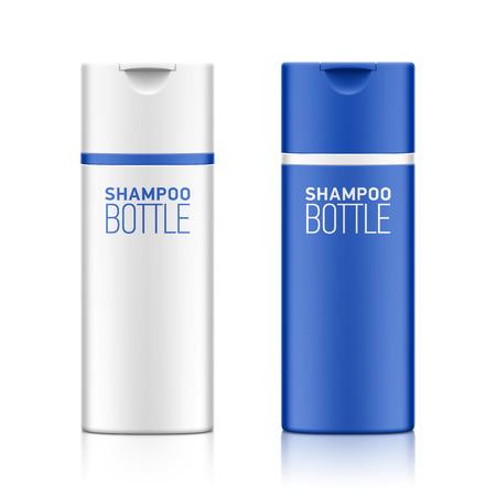 plantilla de la botella de champú cosmético para su diseño Ilustración de vector