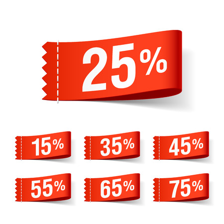 cut away: Discount labels, super sale, special offer tags
