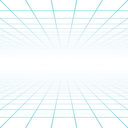 Perspectiva fondo de la cuadrícula