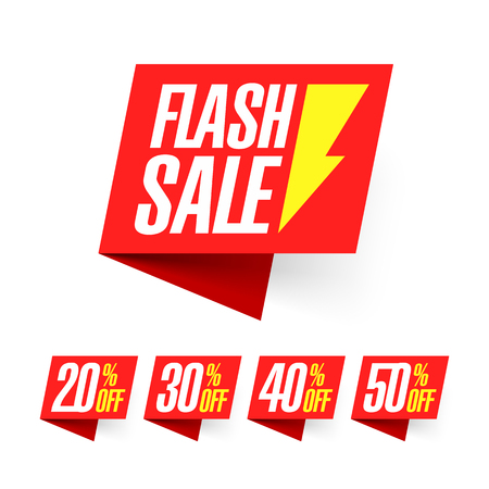 Flash Sale, deal of the day labels