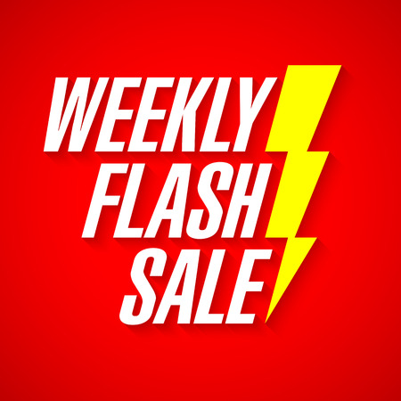 weekly: Weekly Flash Sale, deal of the day banner