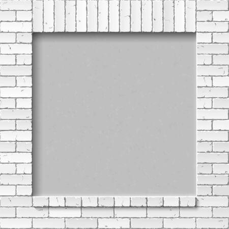 bricklaying: brick wall Illustration