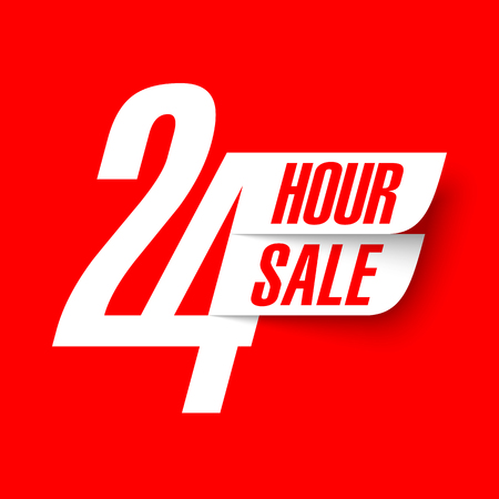 24 Hour Sale banner