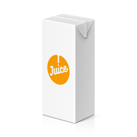 canned drink: Juice or milk package mock up, 200ml