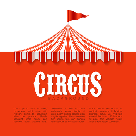 advertisement: Circus advertisement, vintage poster background