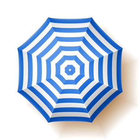 Parasol, vue de dessus