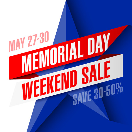 adverts: Memorial Day Weekend Sale banner