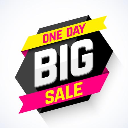 Jeden dzień banner Big Sale