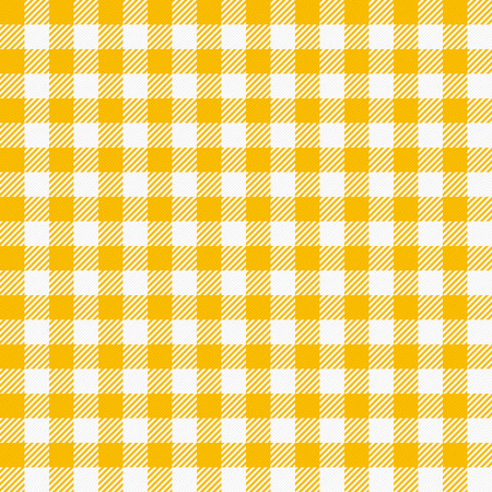 chequered drapery: Seamless checkered tablecloth. Traditional gingham pattern, checkered fabric, tablecloth texture