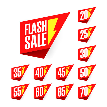 rebate: Flash Sale discount labels