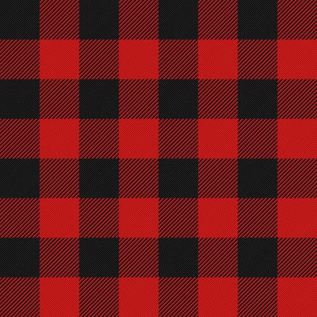 Lumberjack plaid seamless pattern  イラスト・ベクター素材