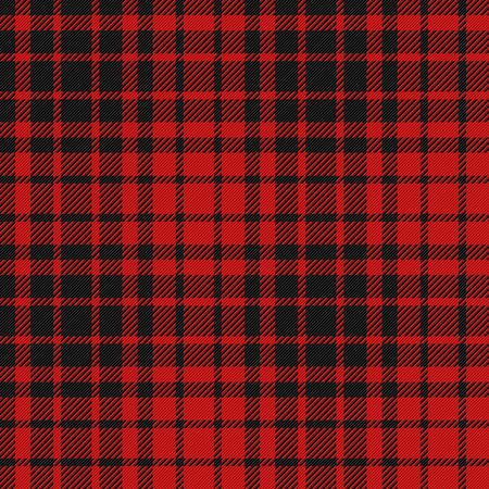 Flannel pattern seamless illustration