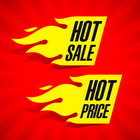 hot price: Hot Sale and Hot Price labels