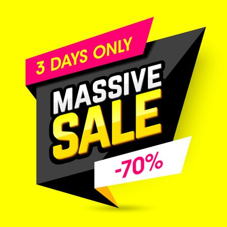 massive: Massive sale banner