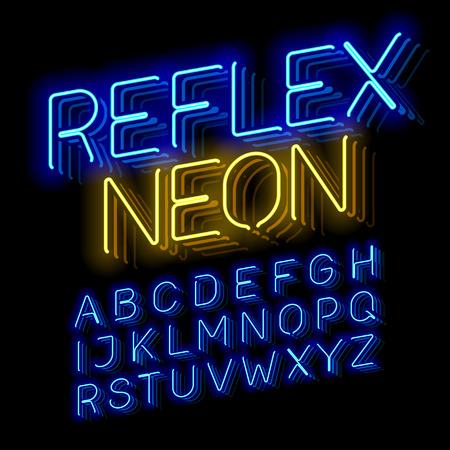 Reflex Neon font