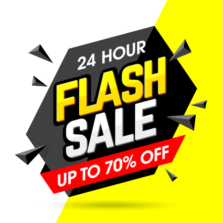 advertisements: 24 hour Flash Sale banner