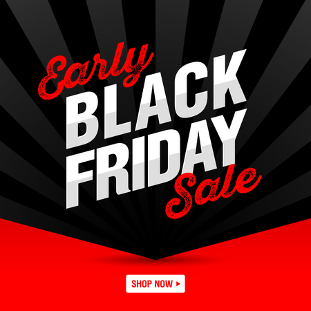 Early Black Friday Sale banner, shop now