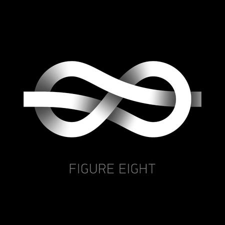 interlaced: Figure eight knot symbol, figure 8