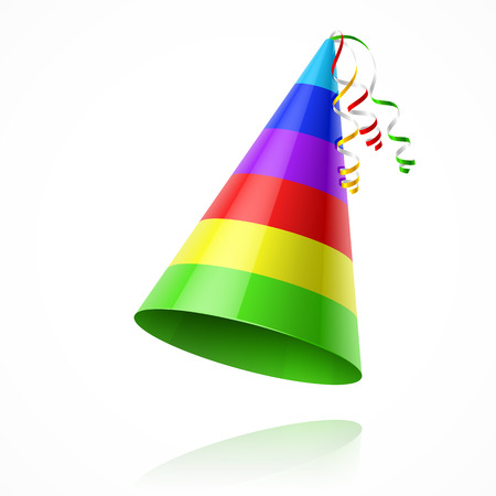 happy holidays: Party hat