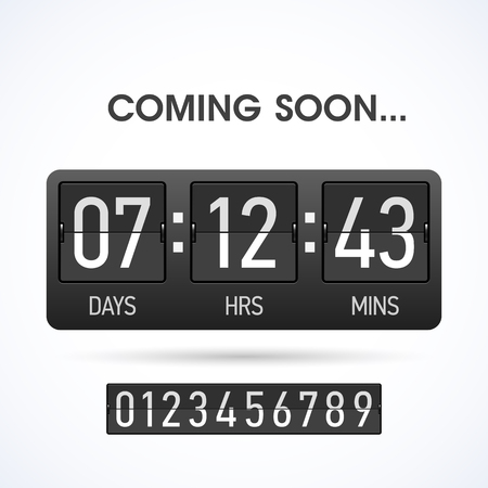 time remaining: Coming soon Countdown timer