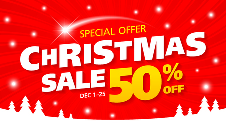 Christmsa sale banner