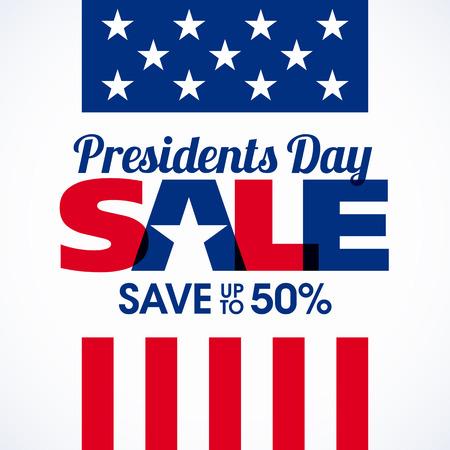 national: Bandera de la venta del Día del Presidente