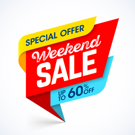 big: Weekend Sale special offer banner