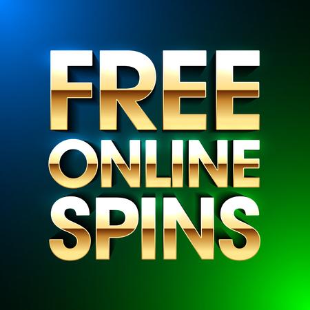 Free Online Spins bright banner, gambling casino games, slot machine games with no deposit bonuses