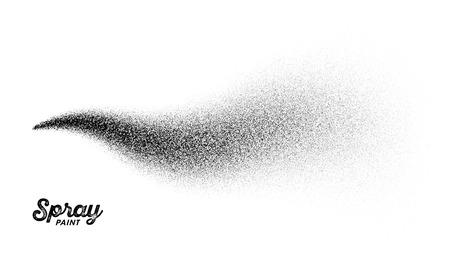 Spray paint splatter illustration.