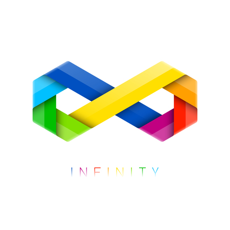Infinity symbol. Limitless sign.