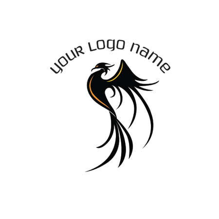 Phoenix Abstract Logo vector illustration. Ilustração