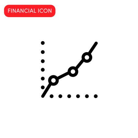 financial icon vector illustration.