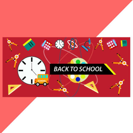red back to schools background
