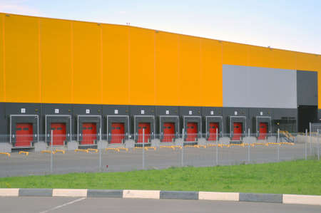 Innovative logistic warehouse complex.