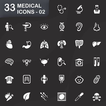 test tube babies: 33 medical icons - 02