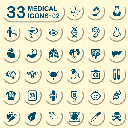 snake and a bowl: 33 jeans medical icons - 02