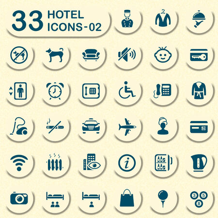 complimentary: 33 hotel icons - 02